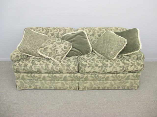 Hickory King Sofa Bed, Green w/ Down Fill