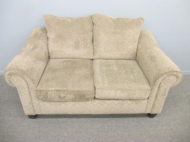 American Furniture Tan Loveseat