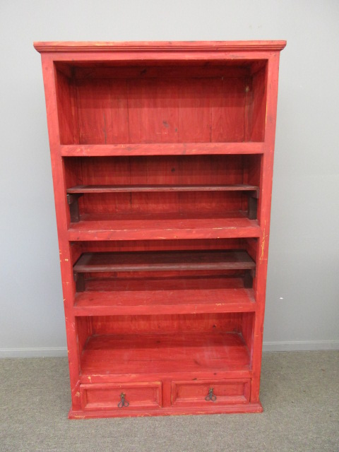 Red Bookcase 39