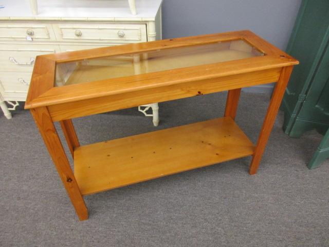 Display Case/Sofa Table
