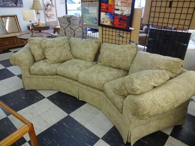 Tan Colored Thomasville Sofa