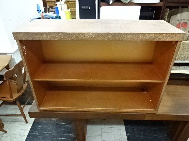 Custom-Painted Copper Bookcase