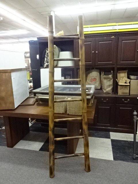 Decorative Bamboo Ladder, 77