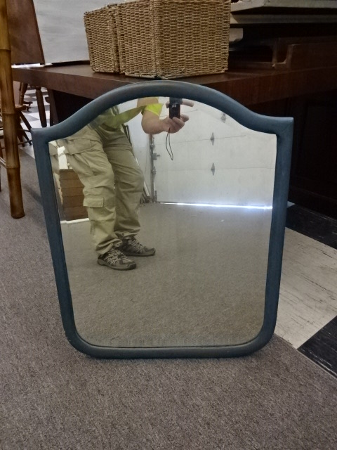 Mirror with Teal Color Frame, 24