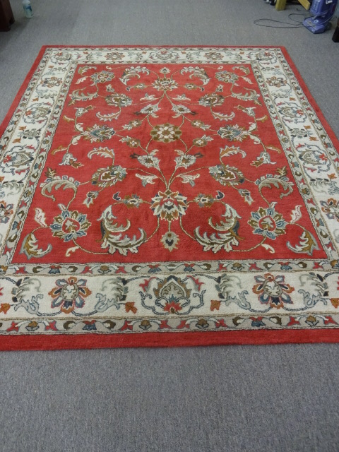 Amer Indian Hand Tufted Woollen 8x10 Rug