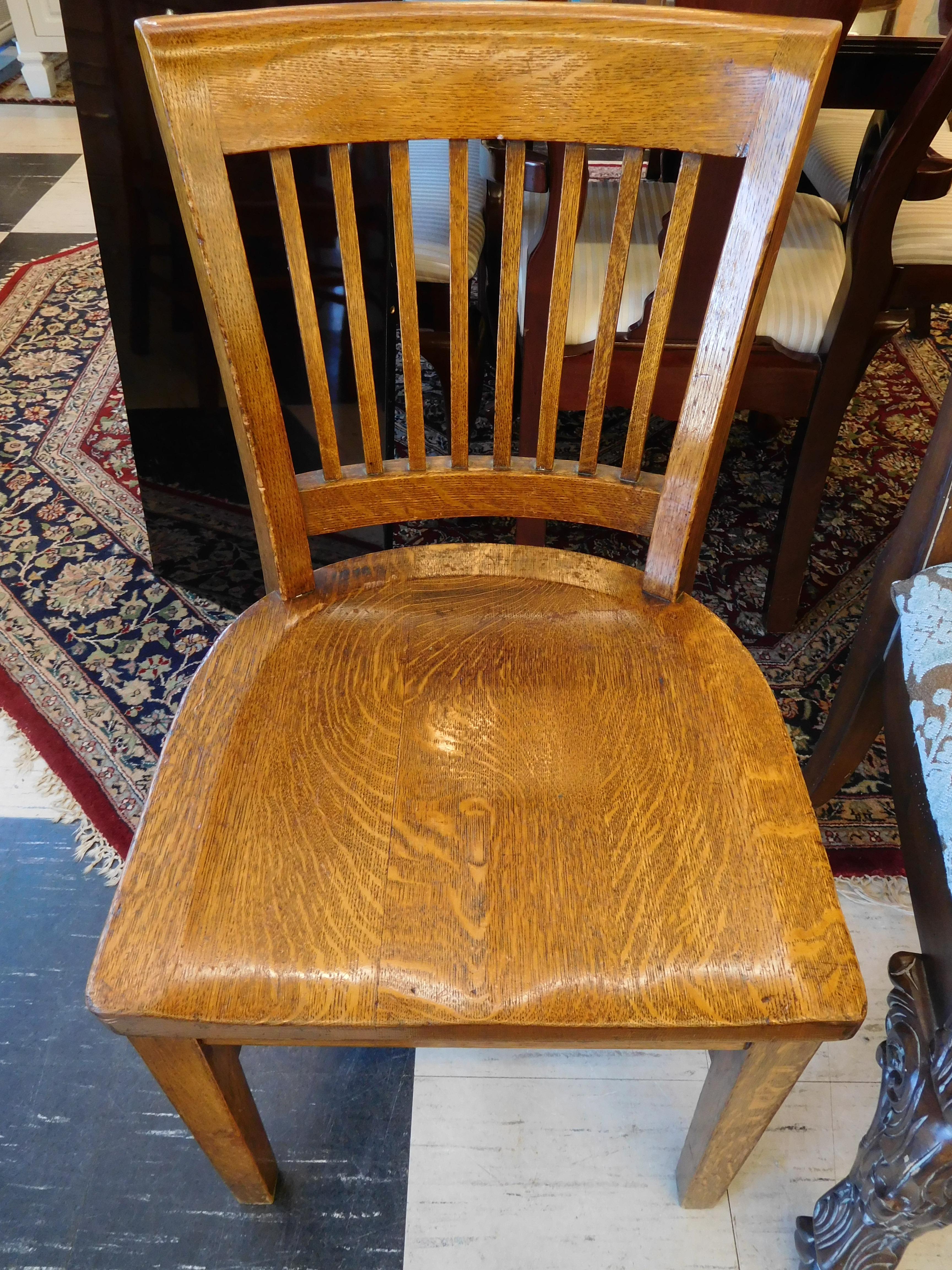 Vintage Mission Oak Office Chair