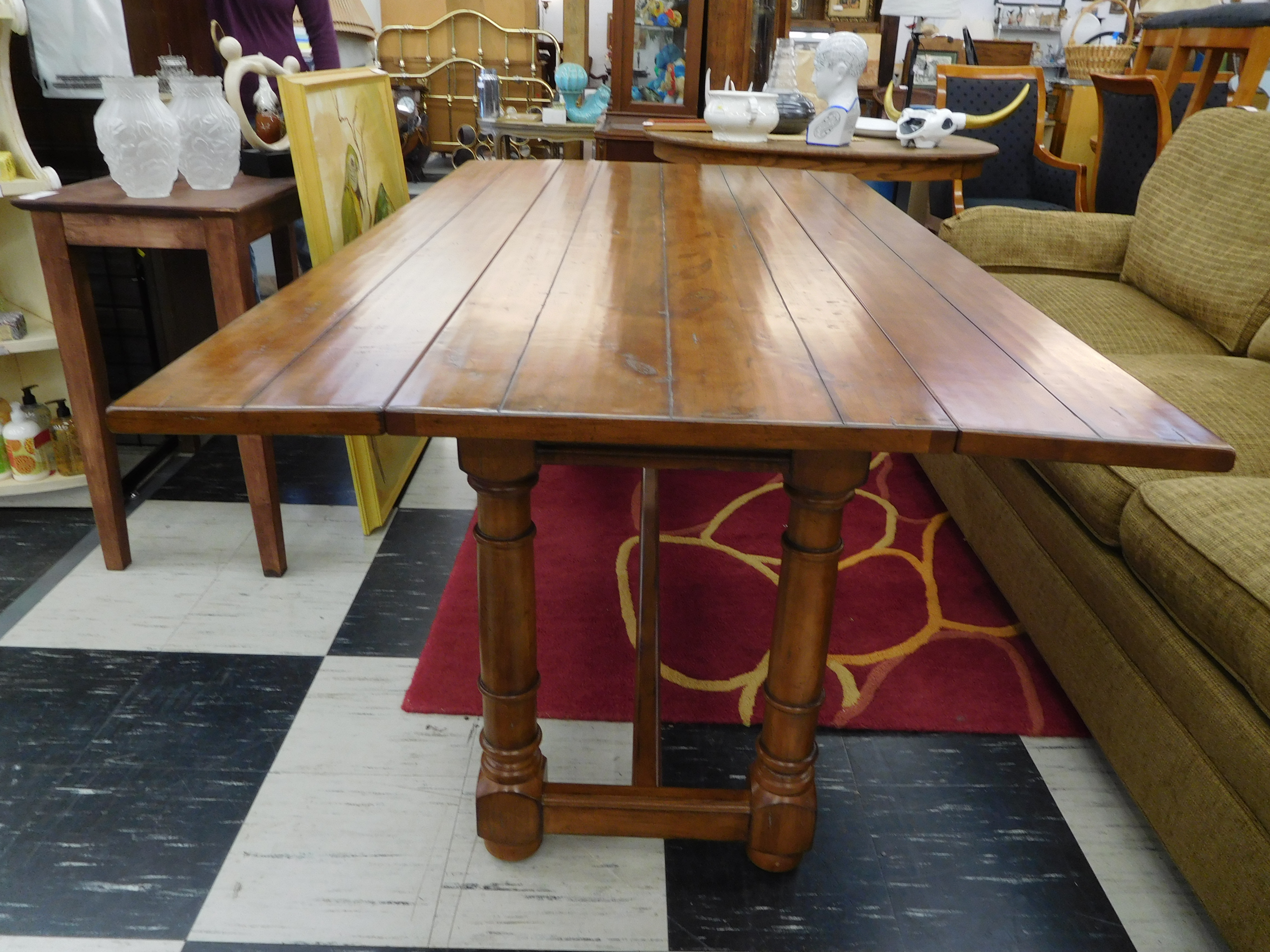 Double Drop Leaf Dining Table by Century Furniture