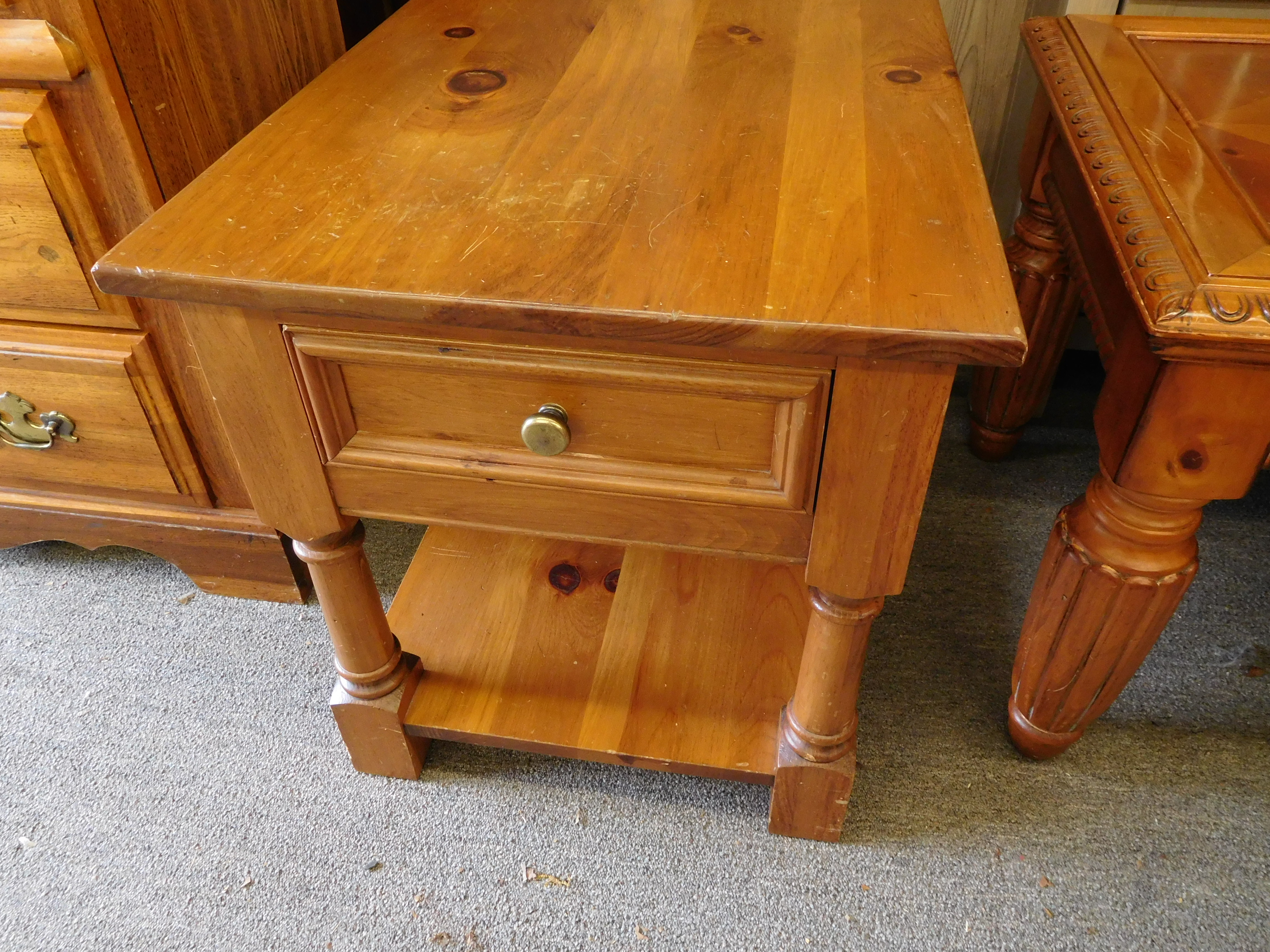 Pine Night Stand by Pennsylvania House Furniture
