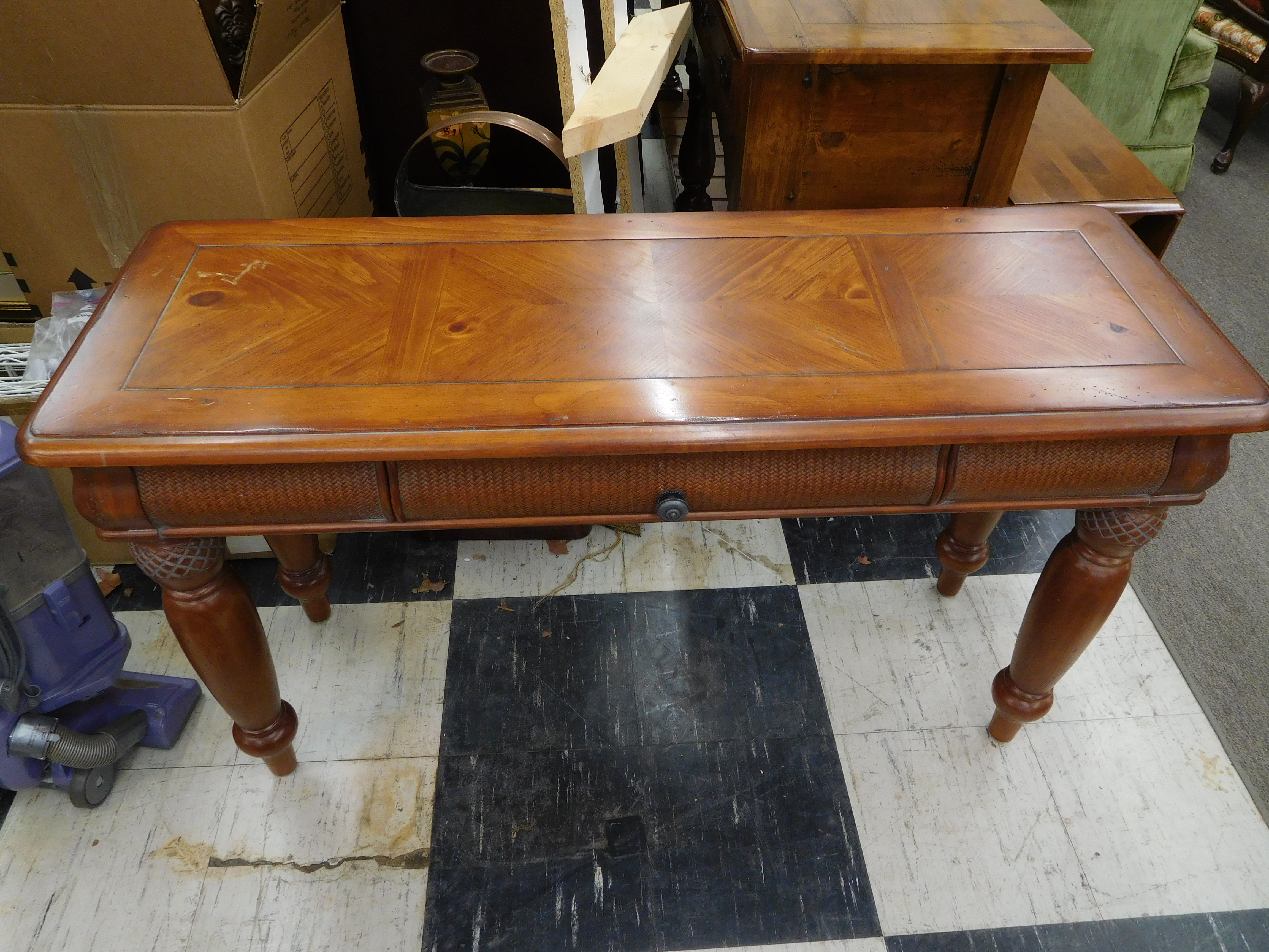 Nice One-Drawer Sofa Table or Console Table