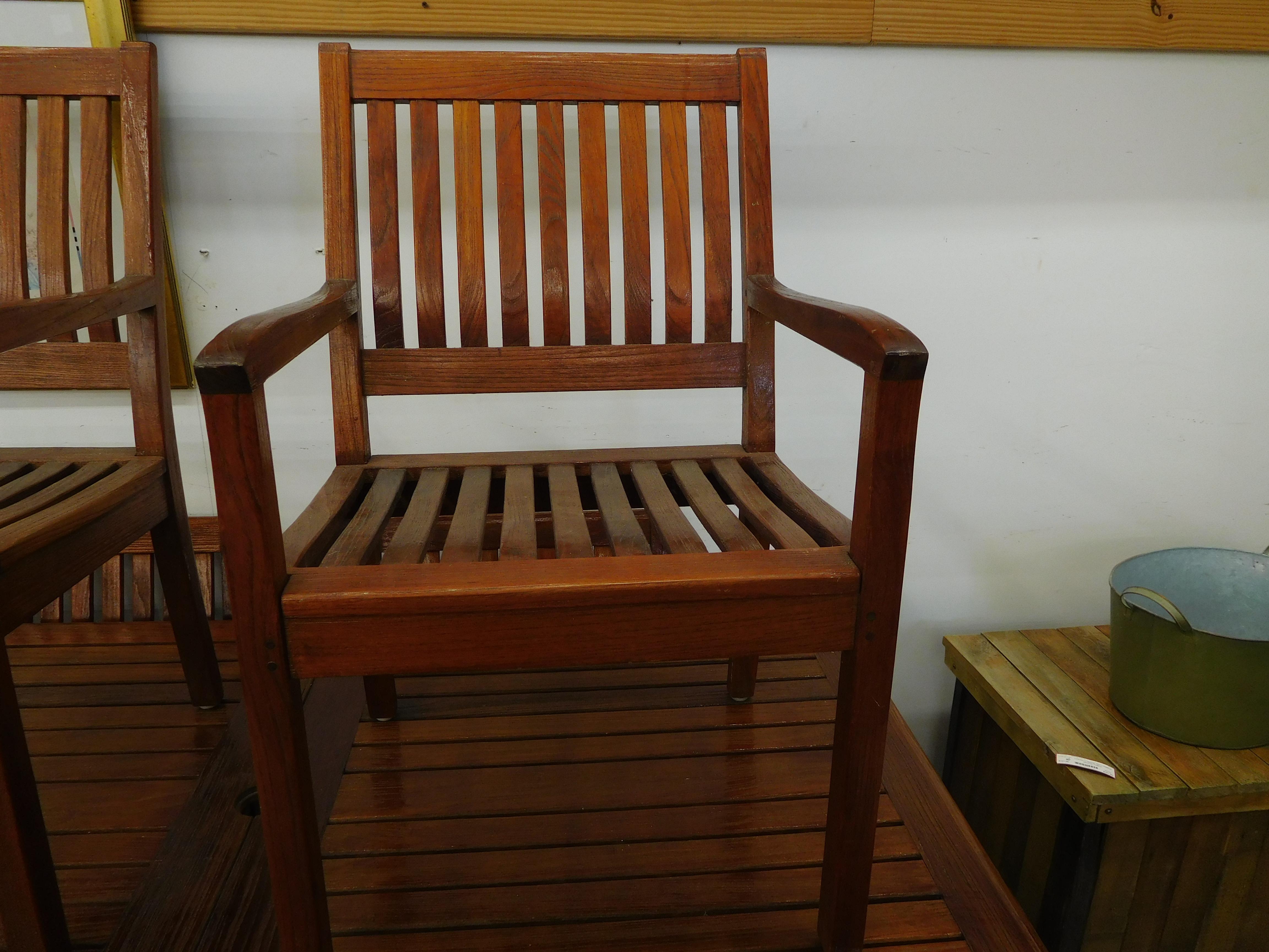 Vintage Gloucester Teak Chair from Bristol England