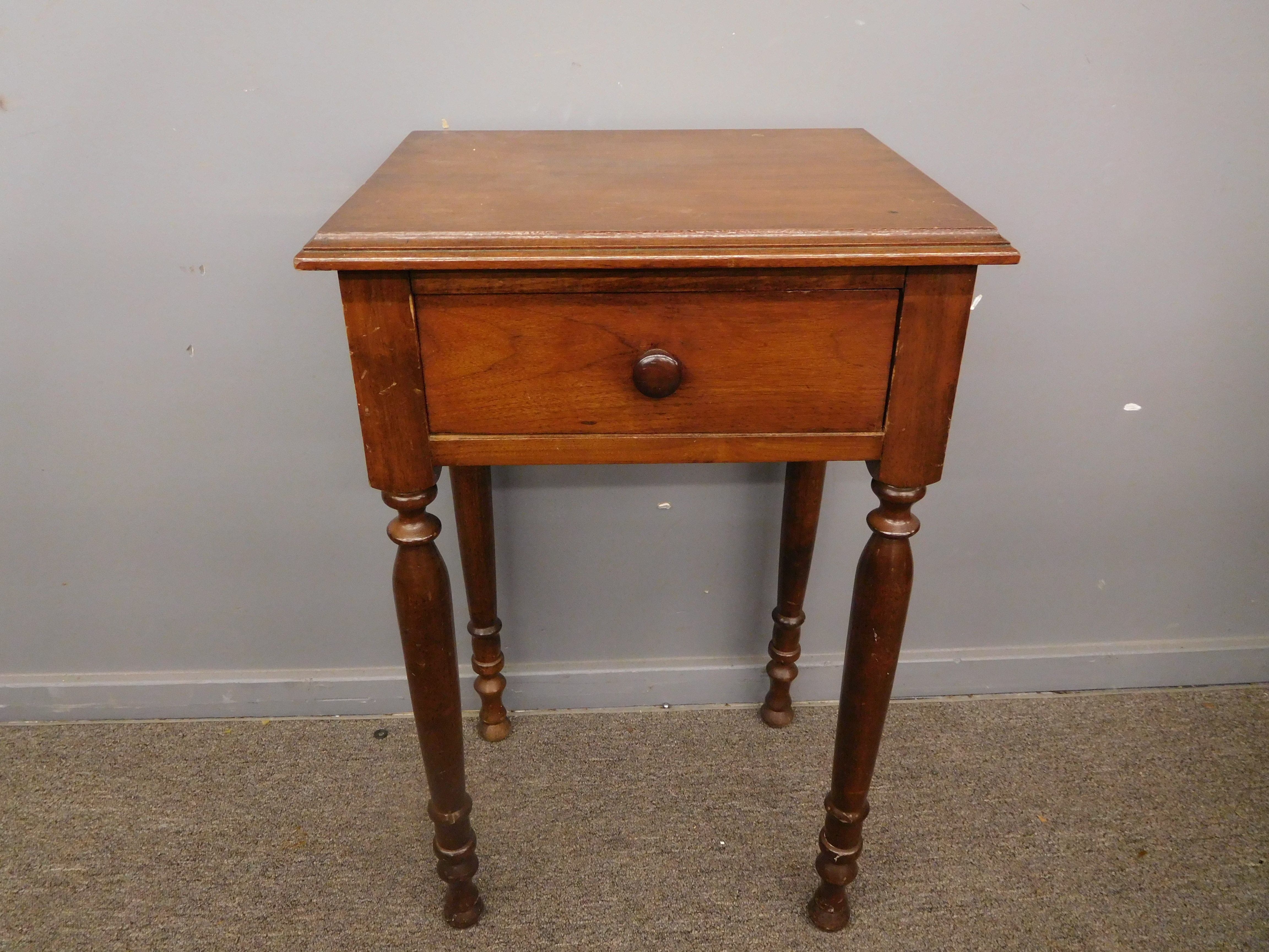 Vintage 1-Drawer Accent Table