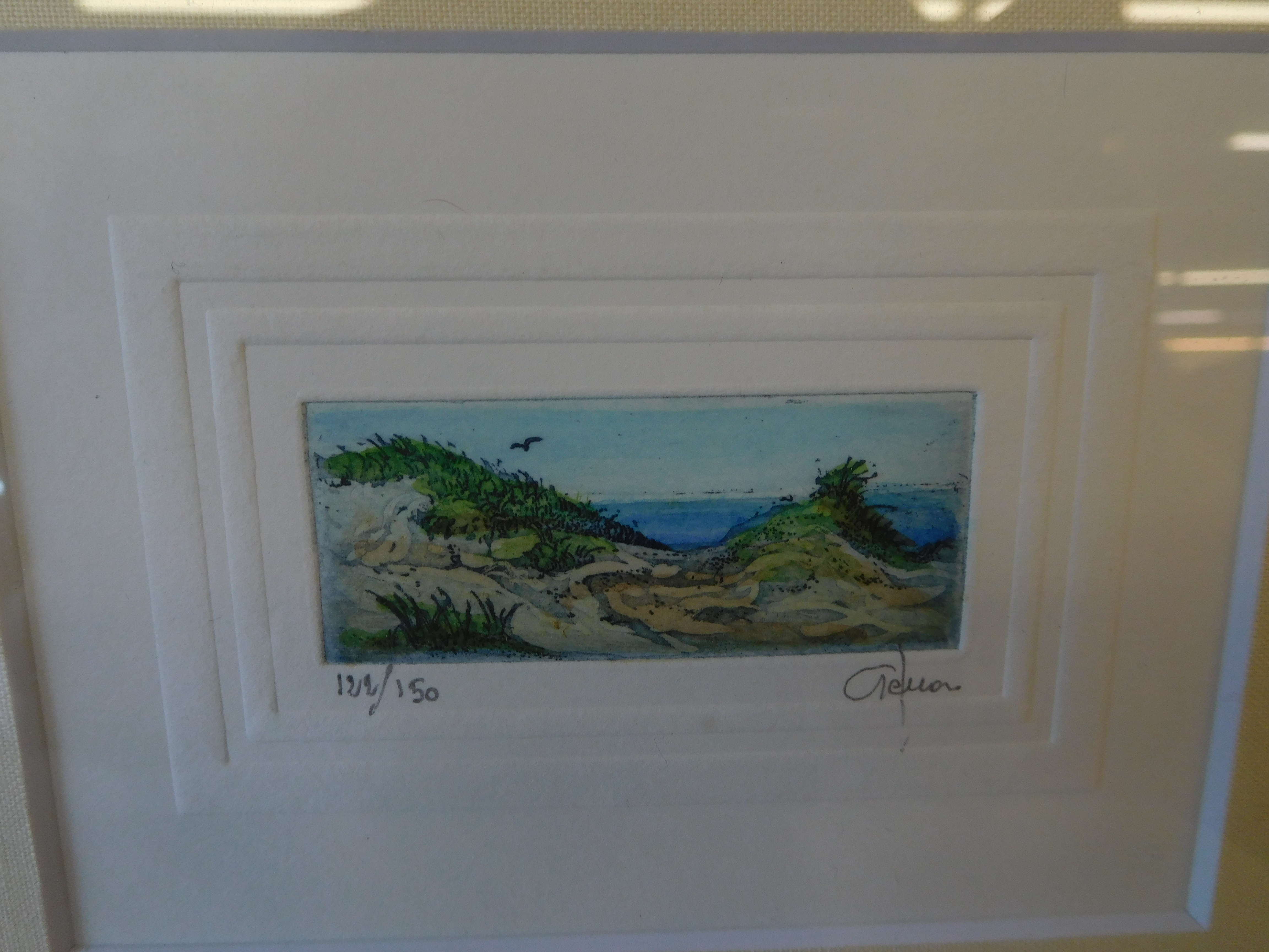 Original Signed and Numbered Seascape Etching by