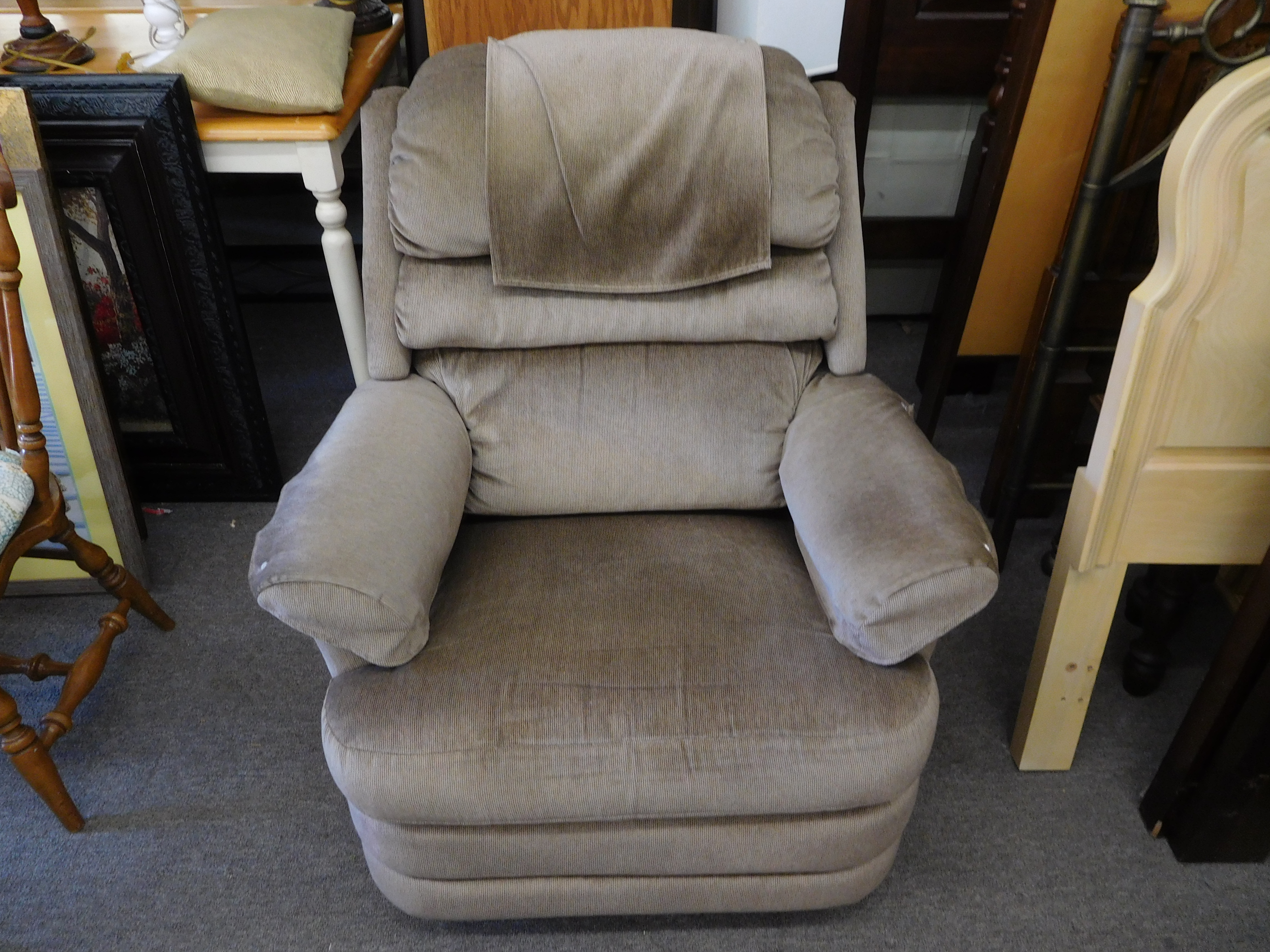 La-Z-Boy Recliner with Brown Upholstery