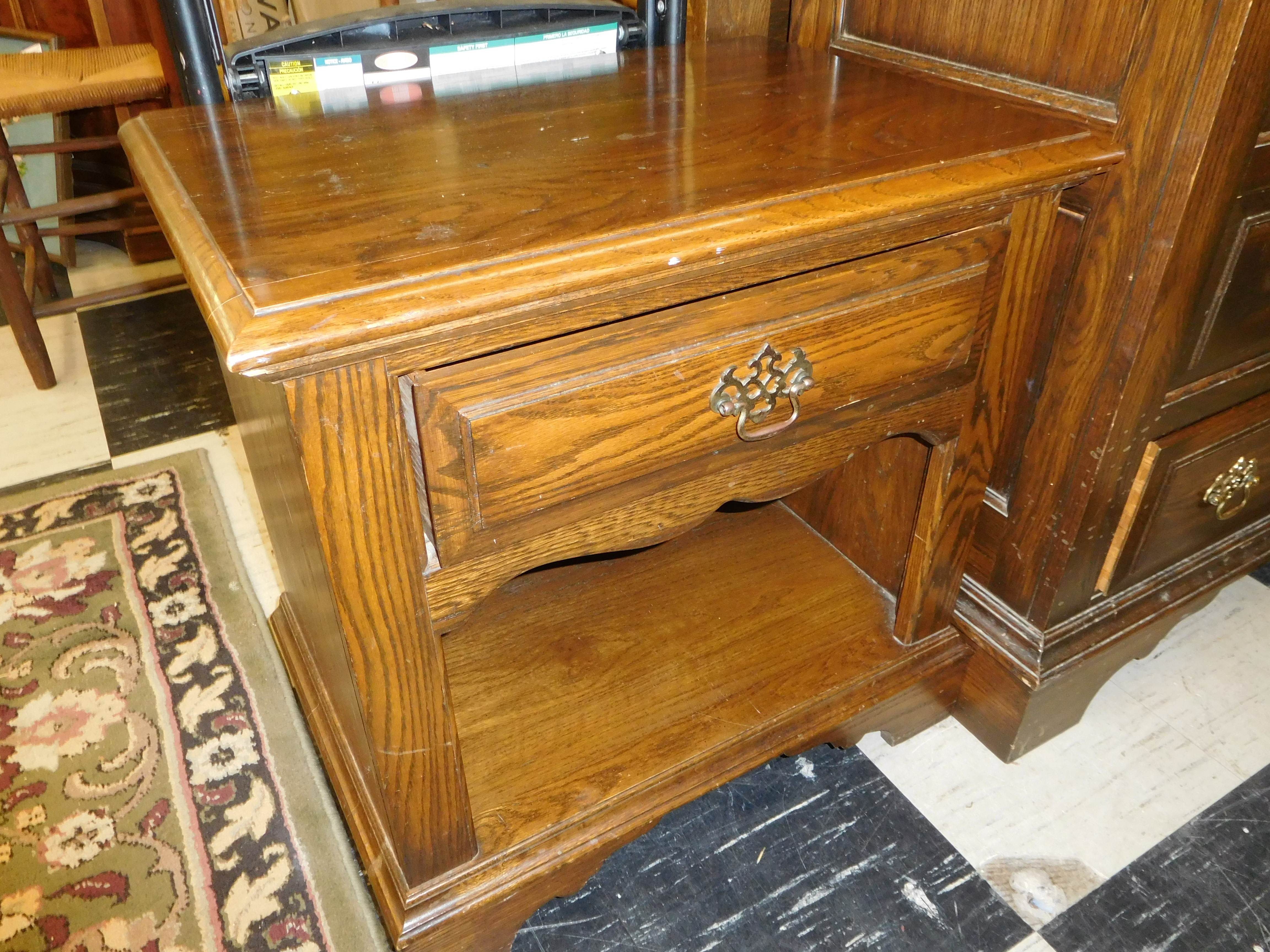 Solid Oak Night Stand by Pennsylvania House