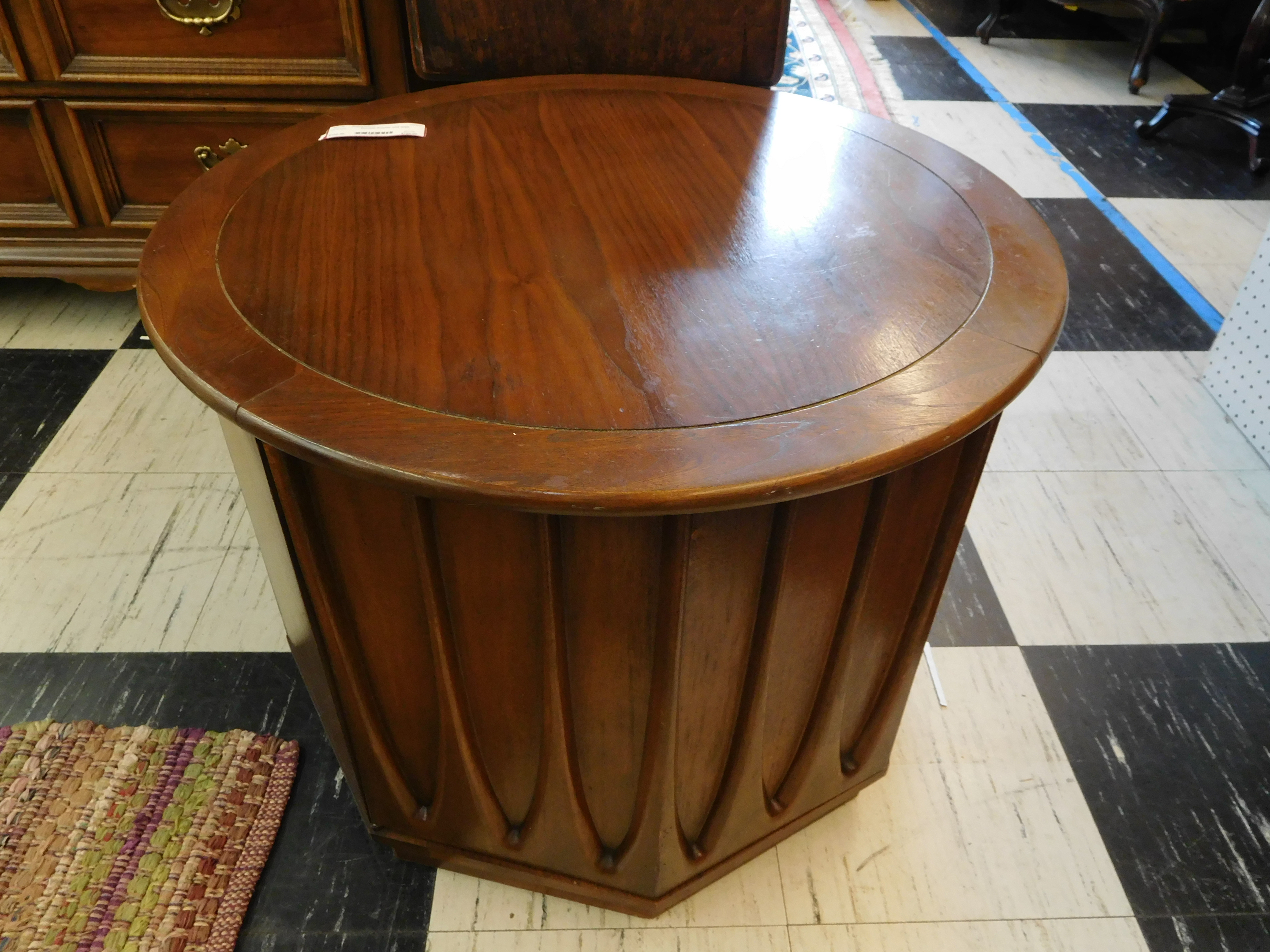 Mid Century Broyhill Brasilia End Table