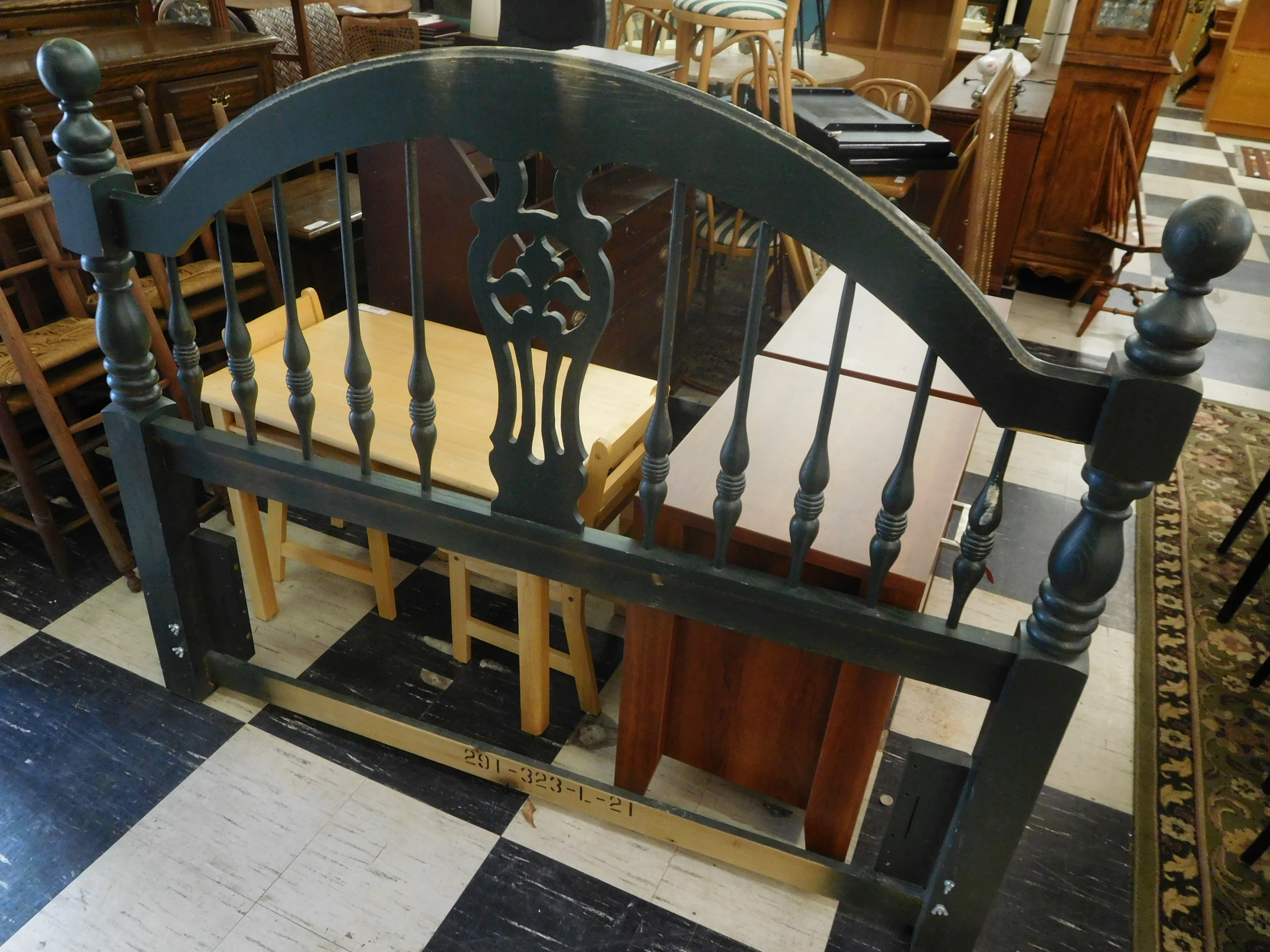 Queen Size Spindle Headboard