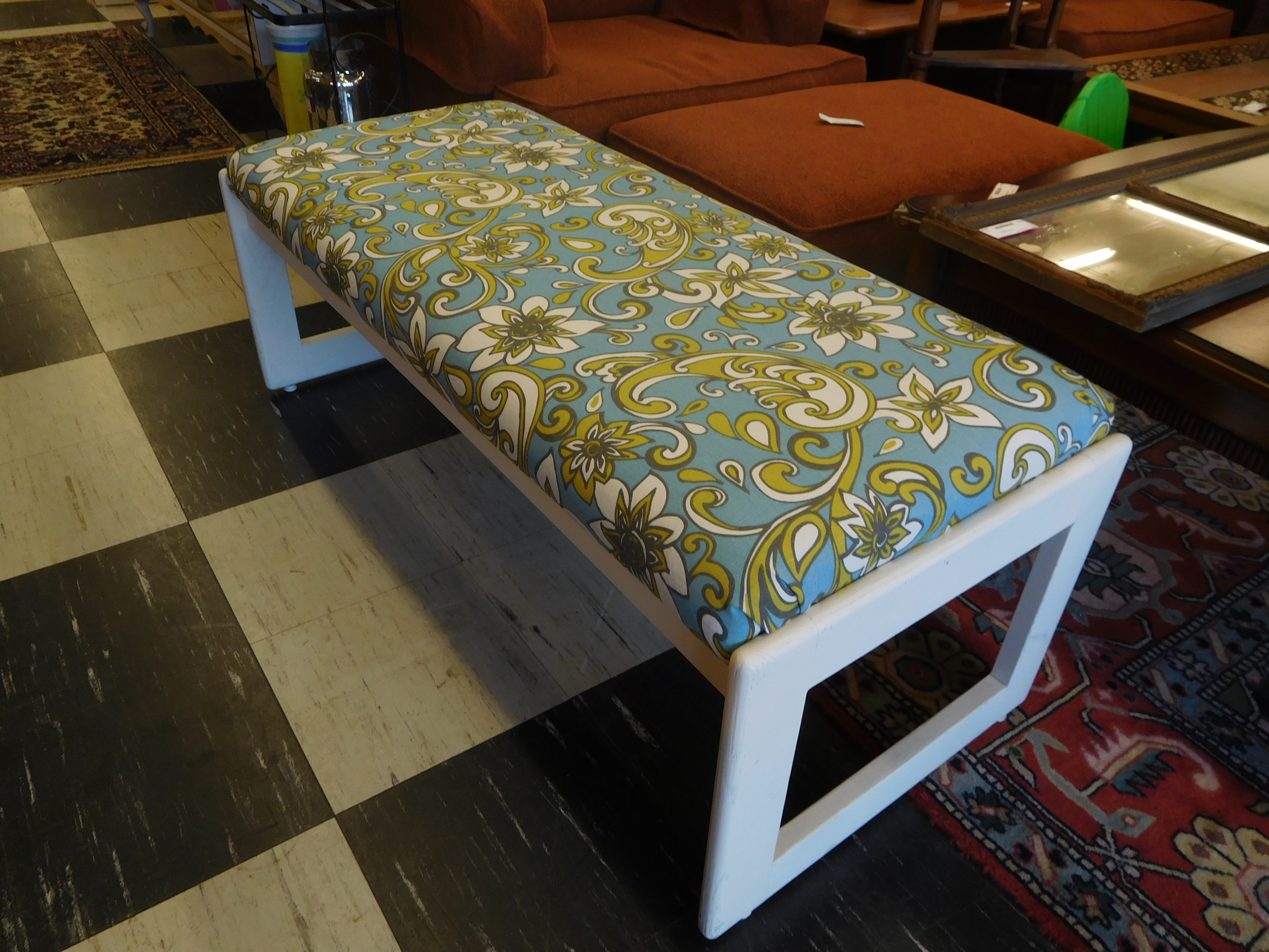 Upholstered Window Bench / Extra Seating