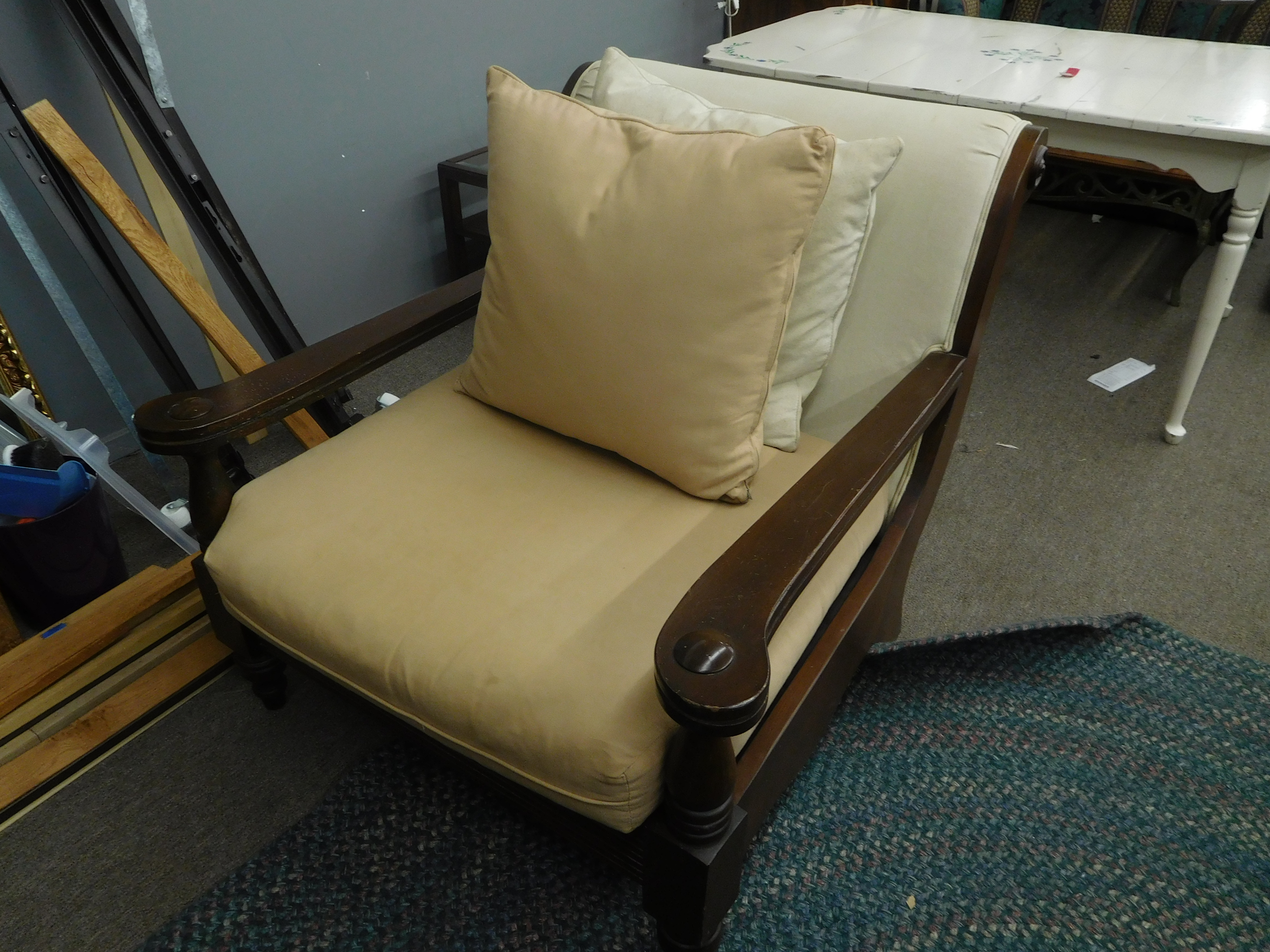 Contemporary Down Filled Chair