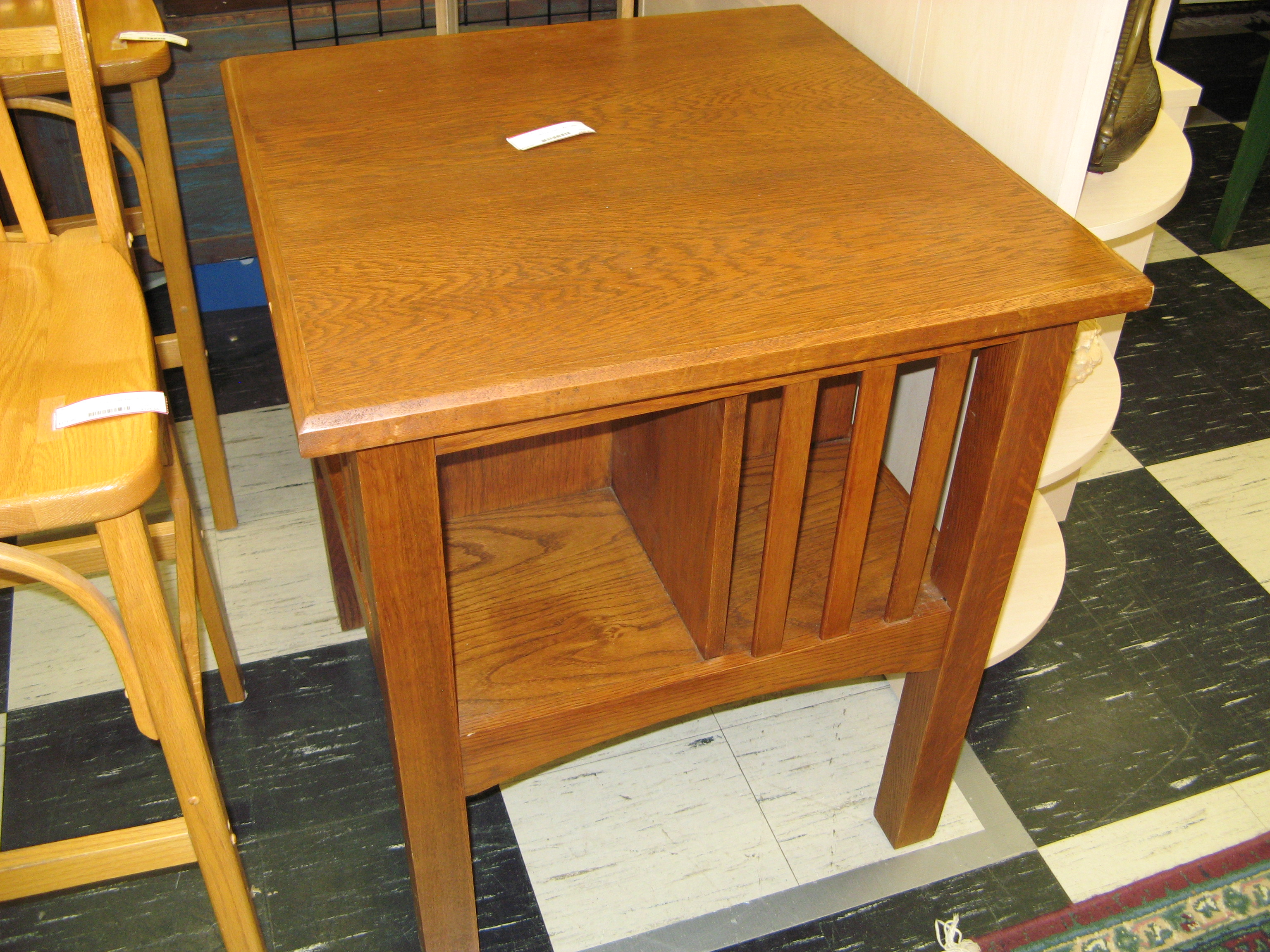 Mission Golden Oak Library Table
