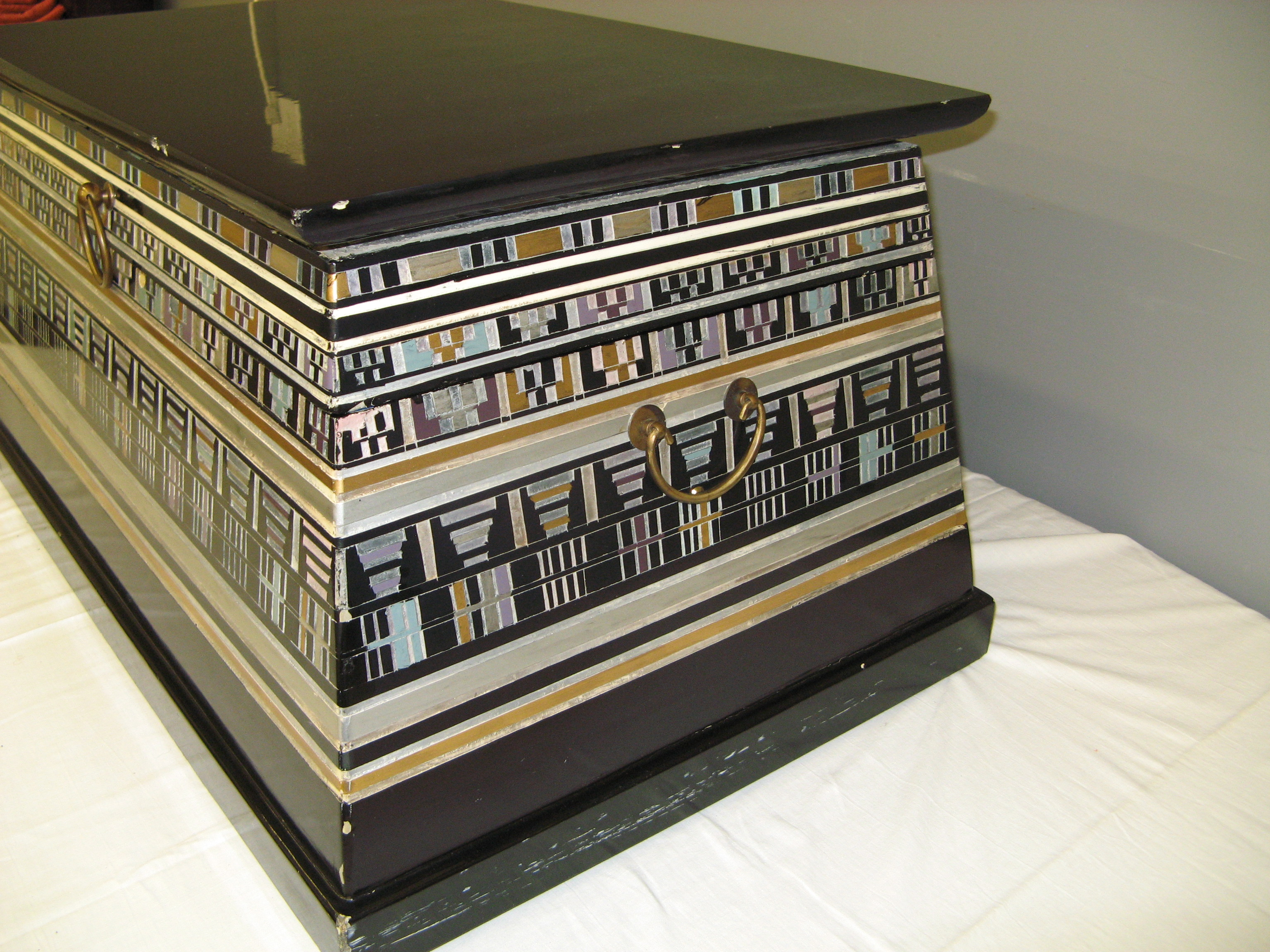 Vintage Egyptian Revival Chest