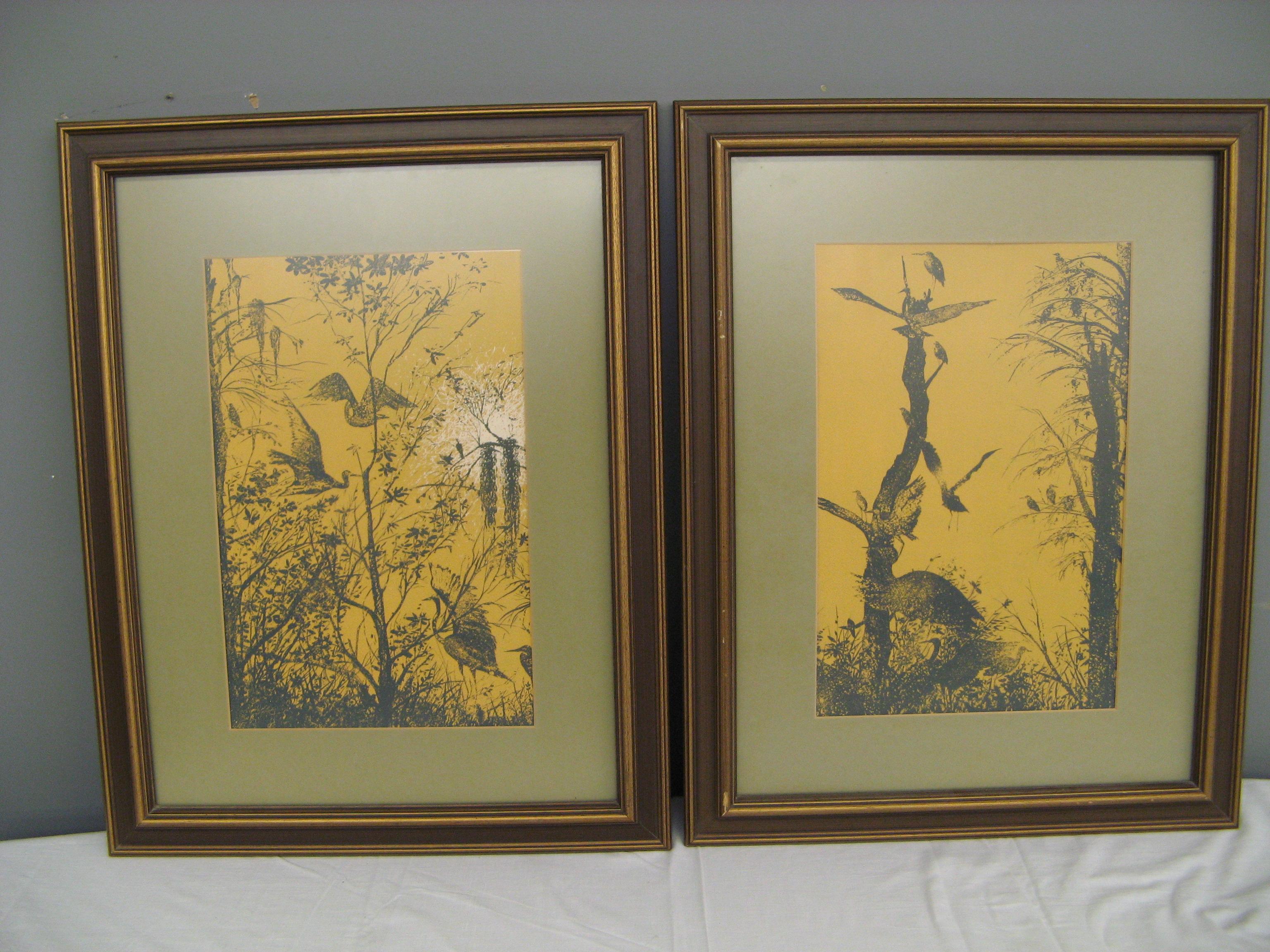 Pair of Prints By Rosario Guajardo of Mexico (1979)