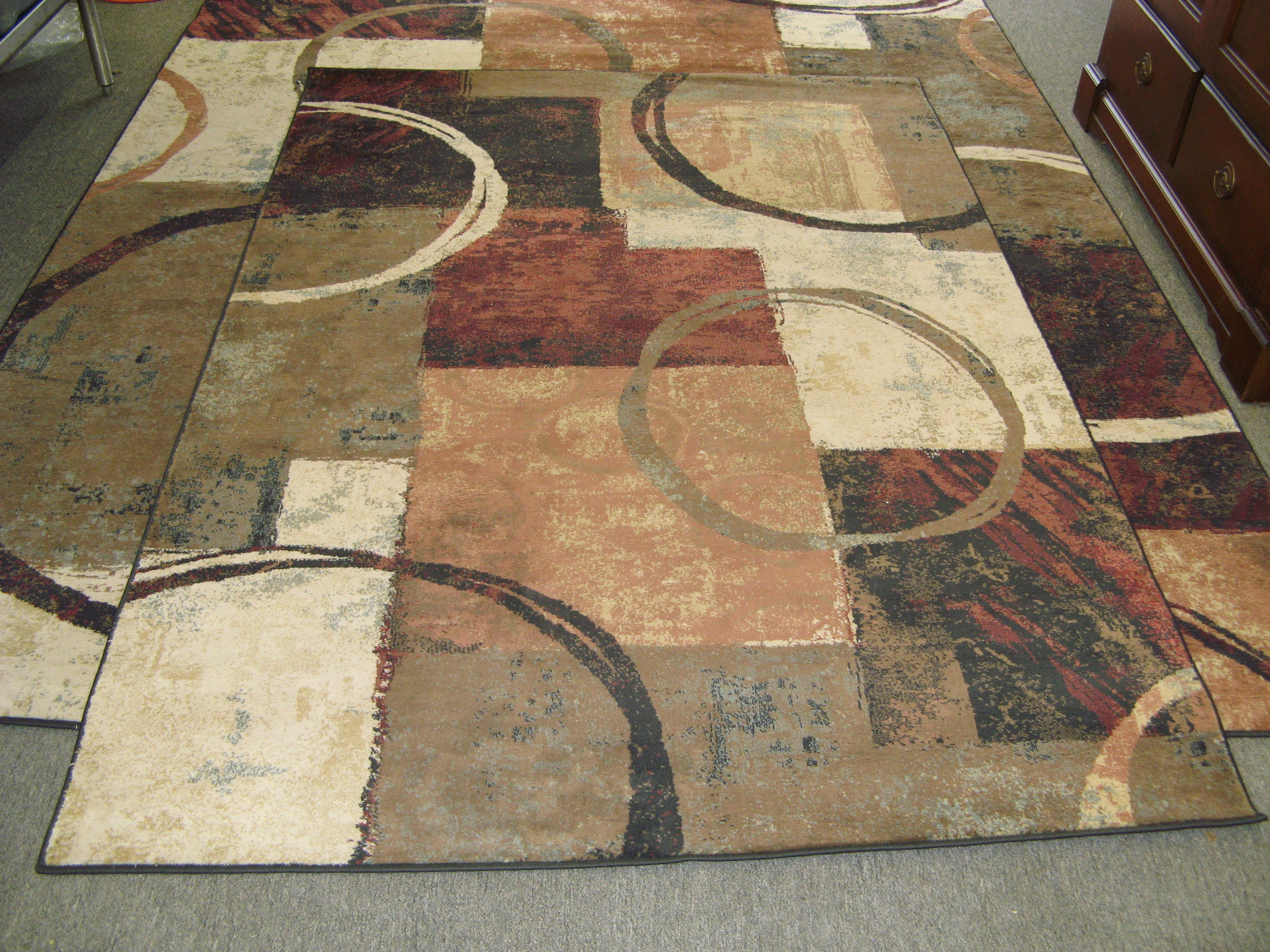 Oriental Weavers Hudson Tan & Brown Rug - 5'3