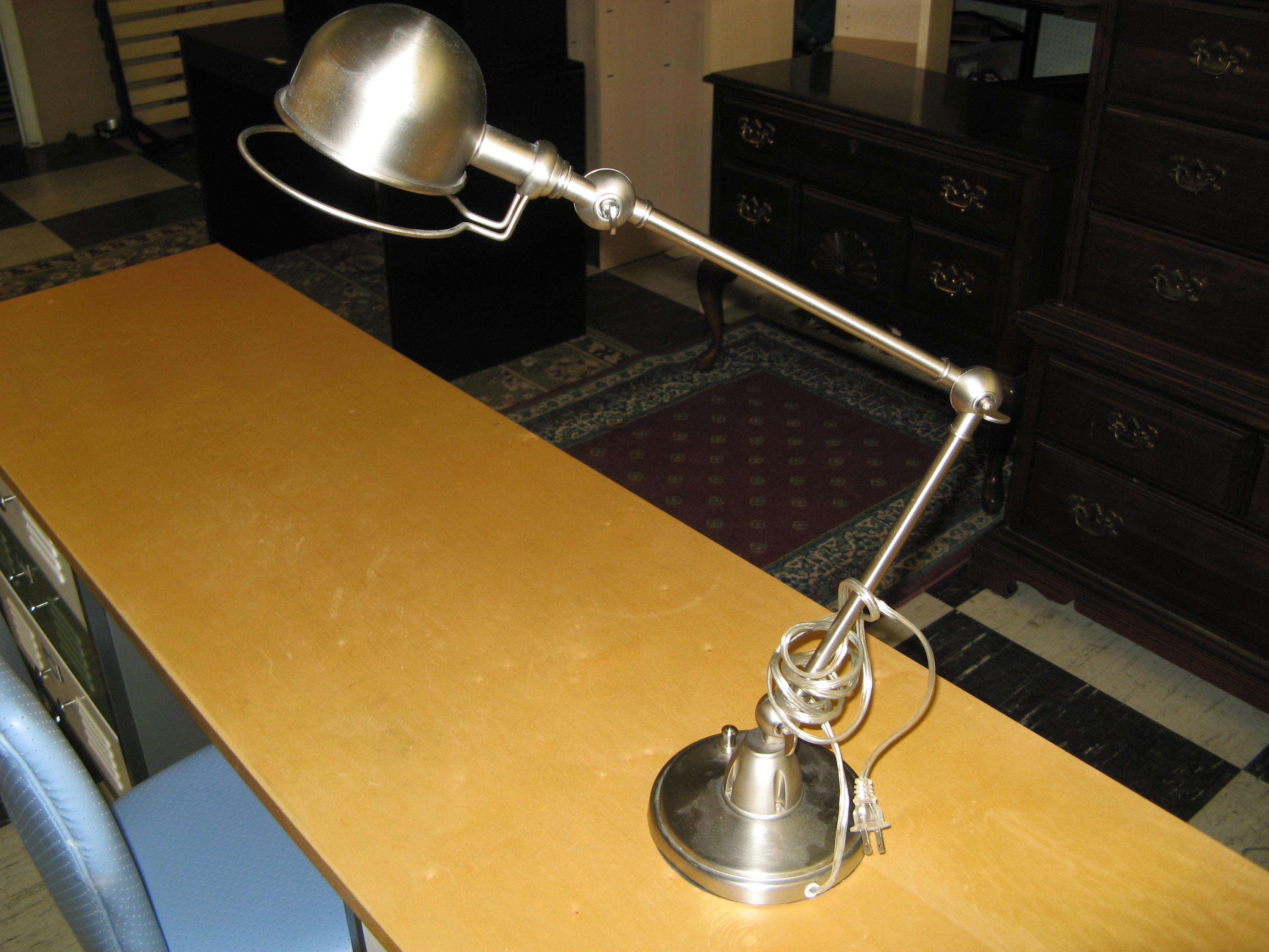 Hi-Light Task Lamp (Silver)
