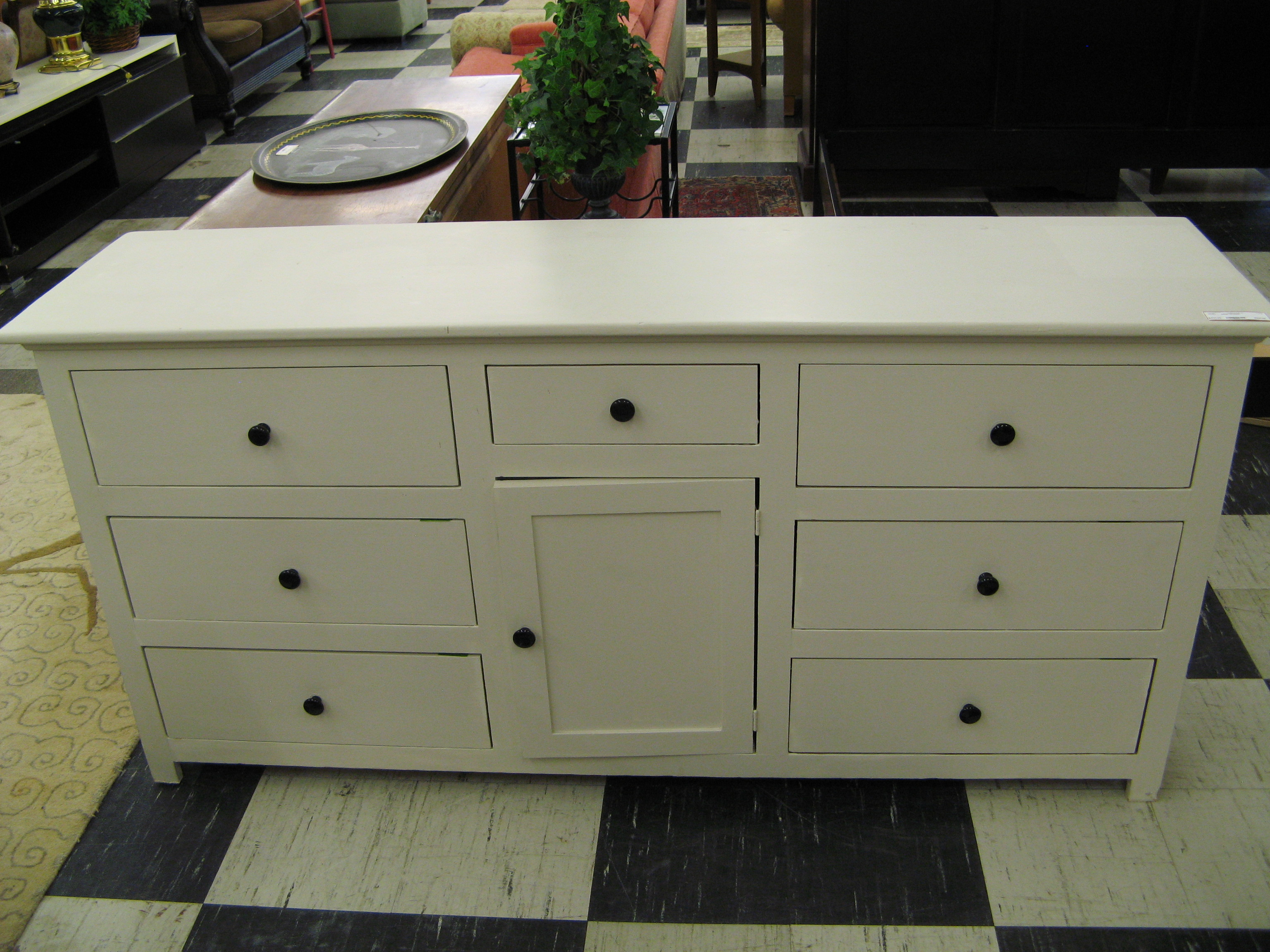 White Dresser or Buffet/Server