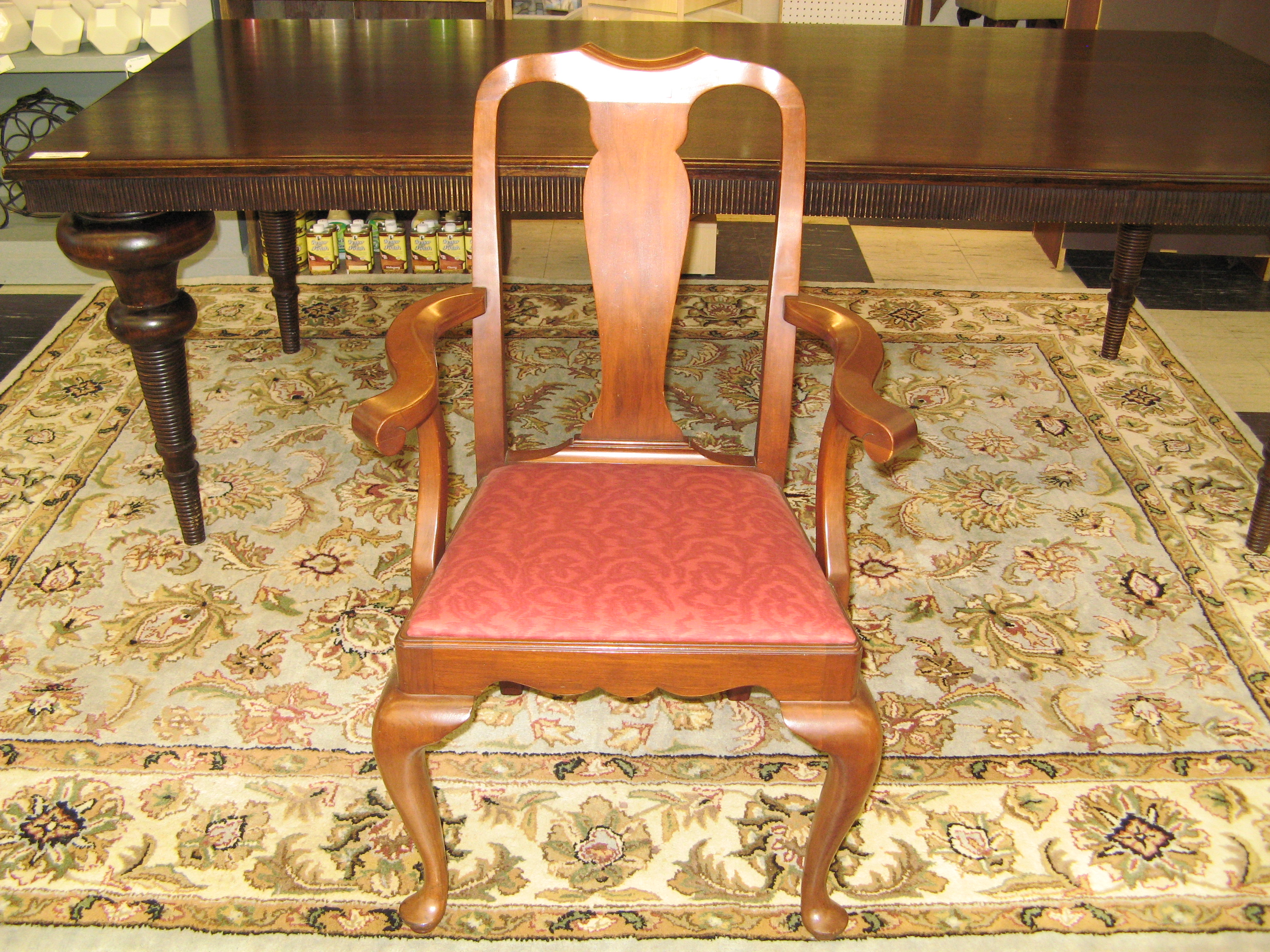 Vintage Black Cherry Henkel Harris Dining Chair