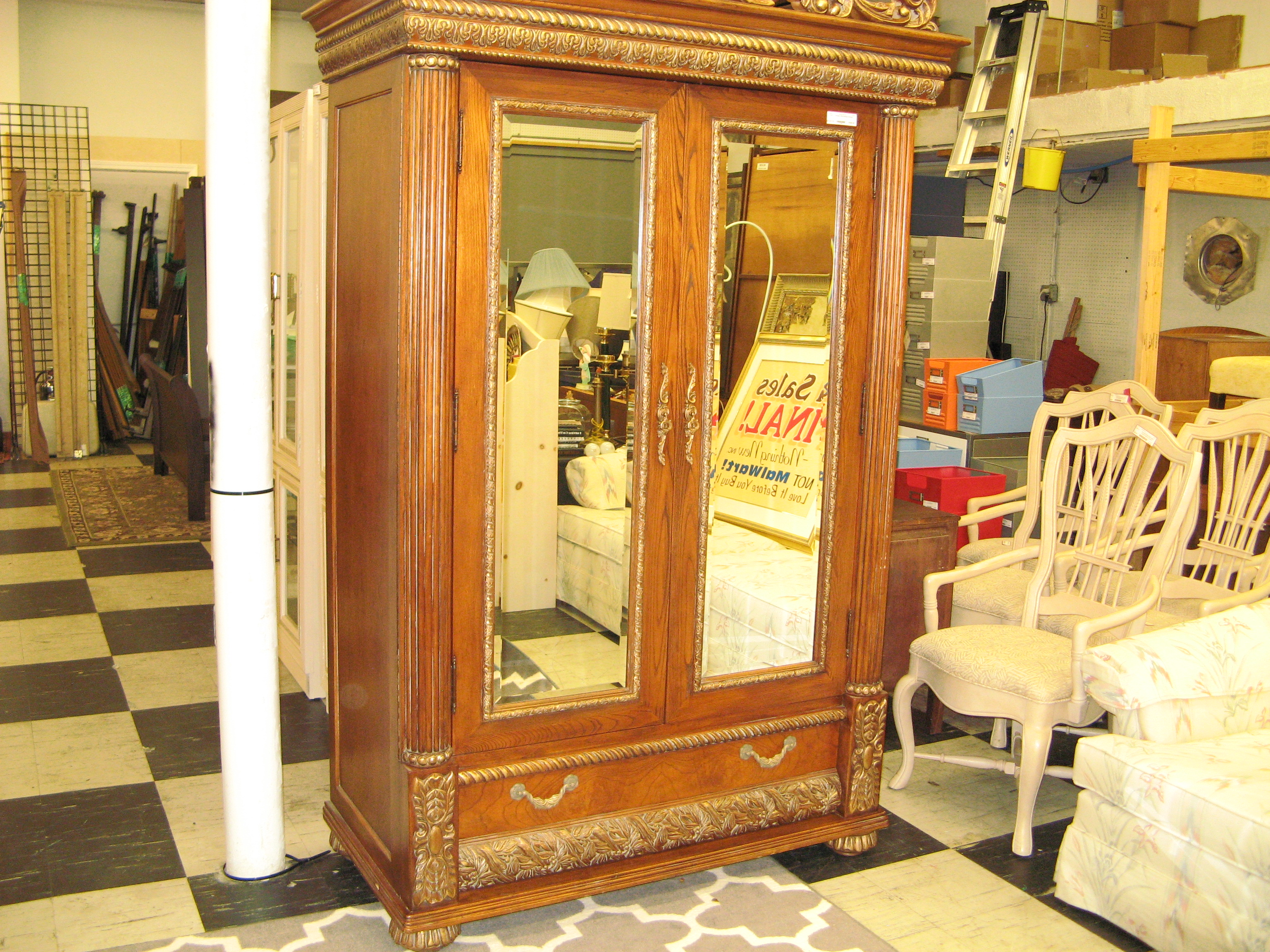 Orleans International Armoire, Italian Imperial Style