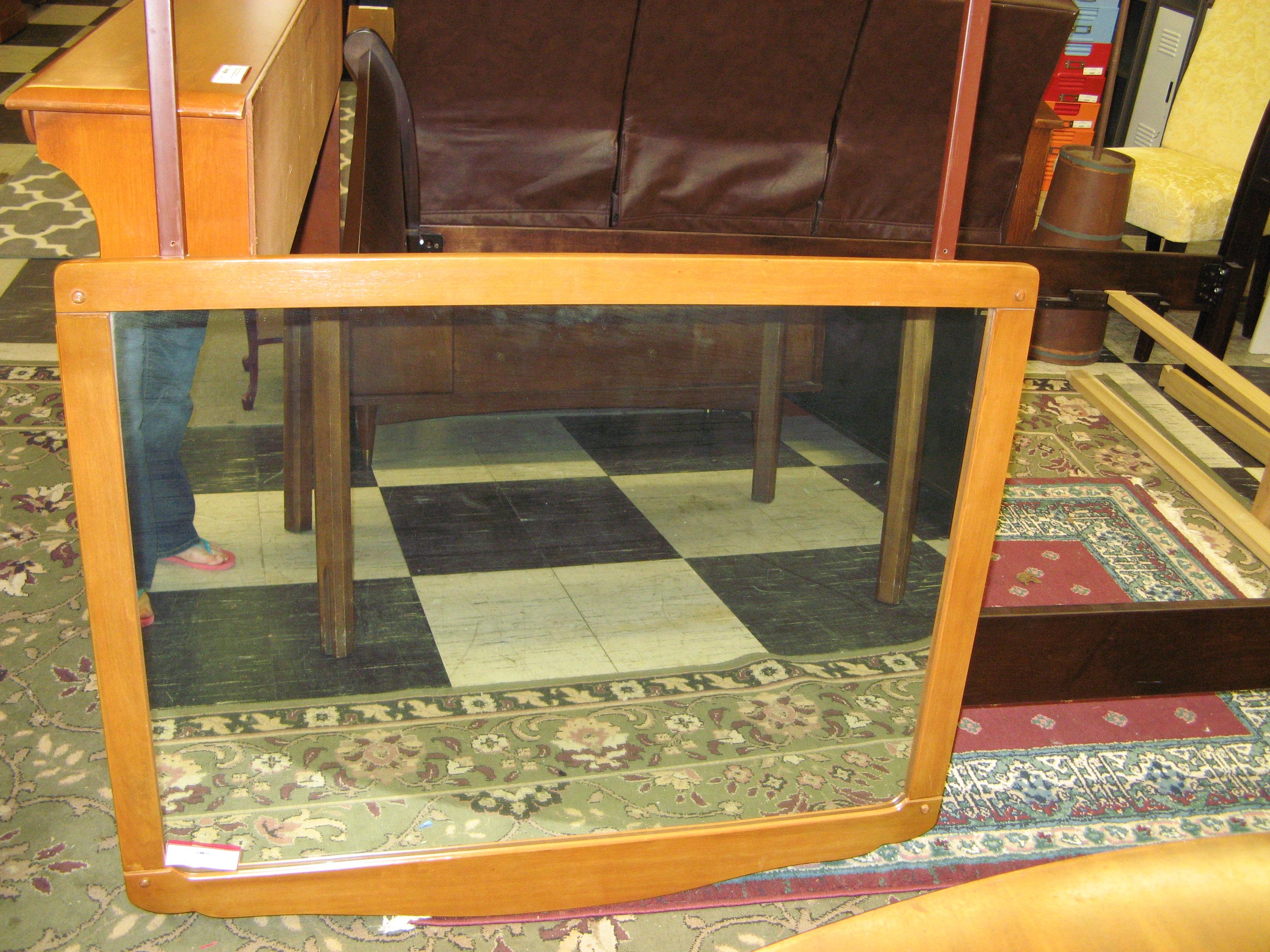 Thomas Maple Frame Mirror