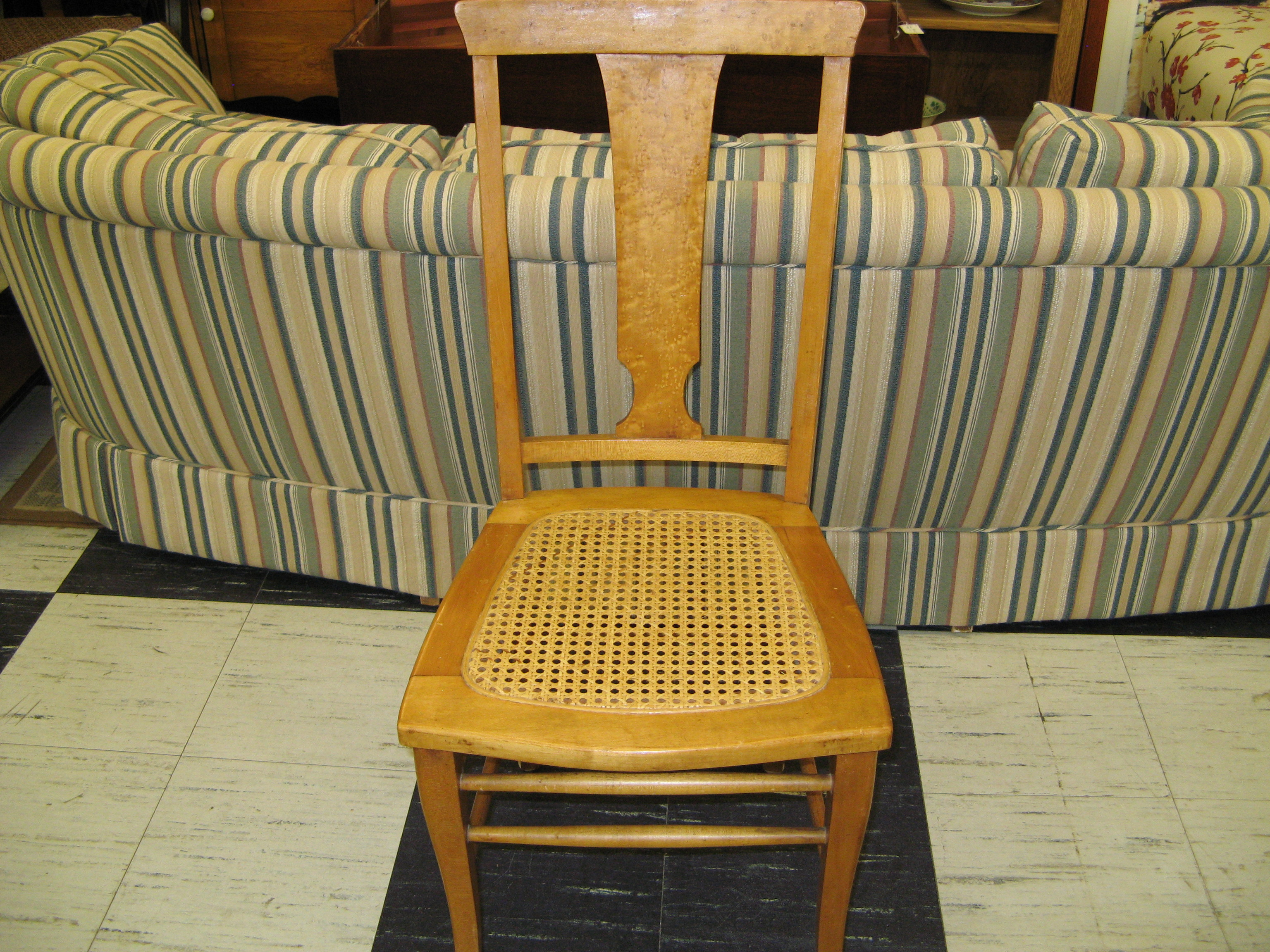 Cane Bottom Side Chair