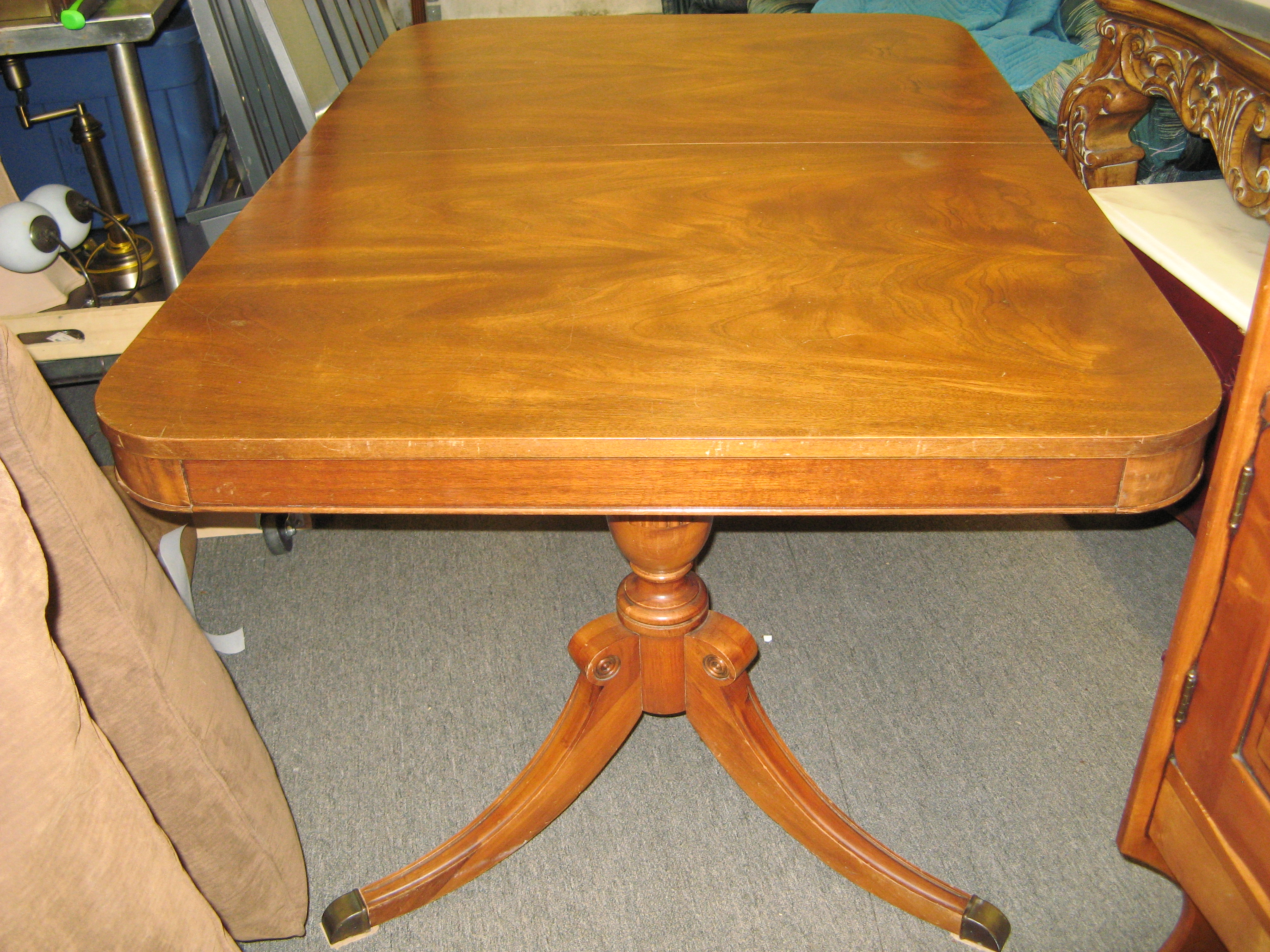 Dual Pedestal Dining Table