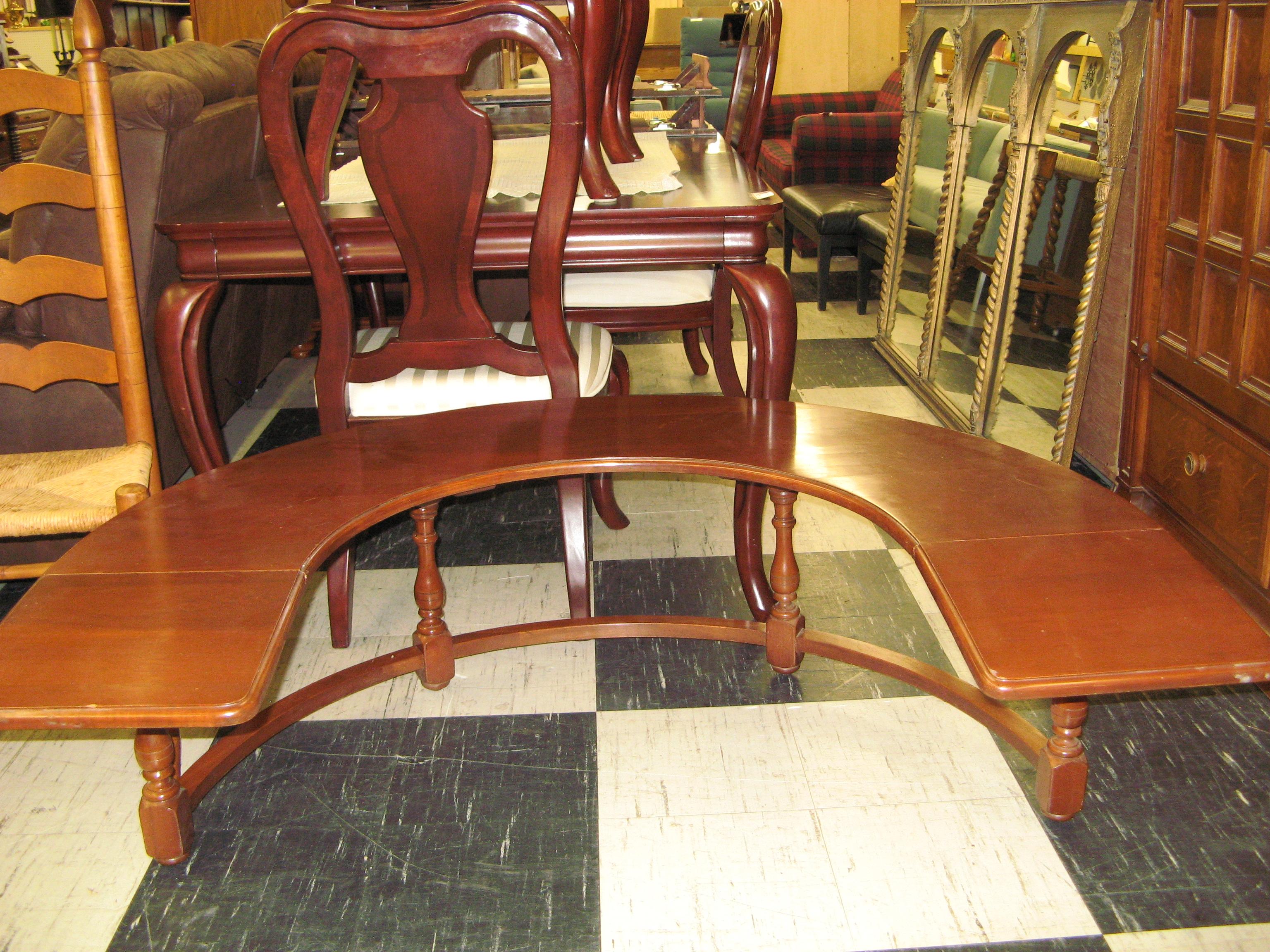 Harden Signed Horseshoe Table