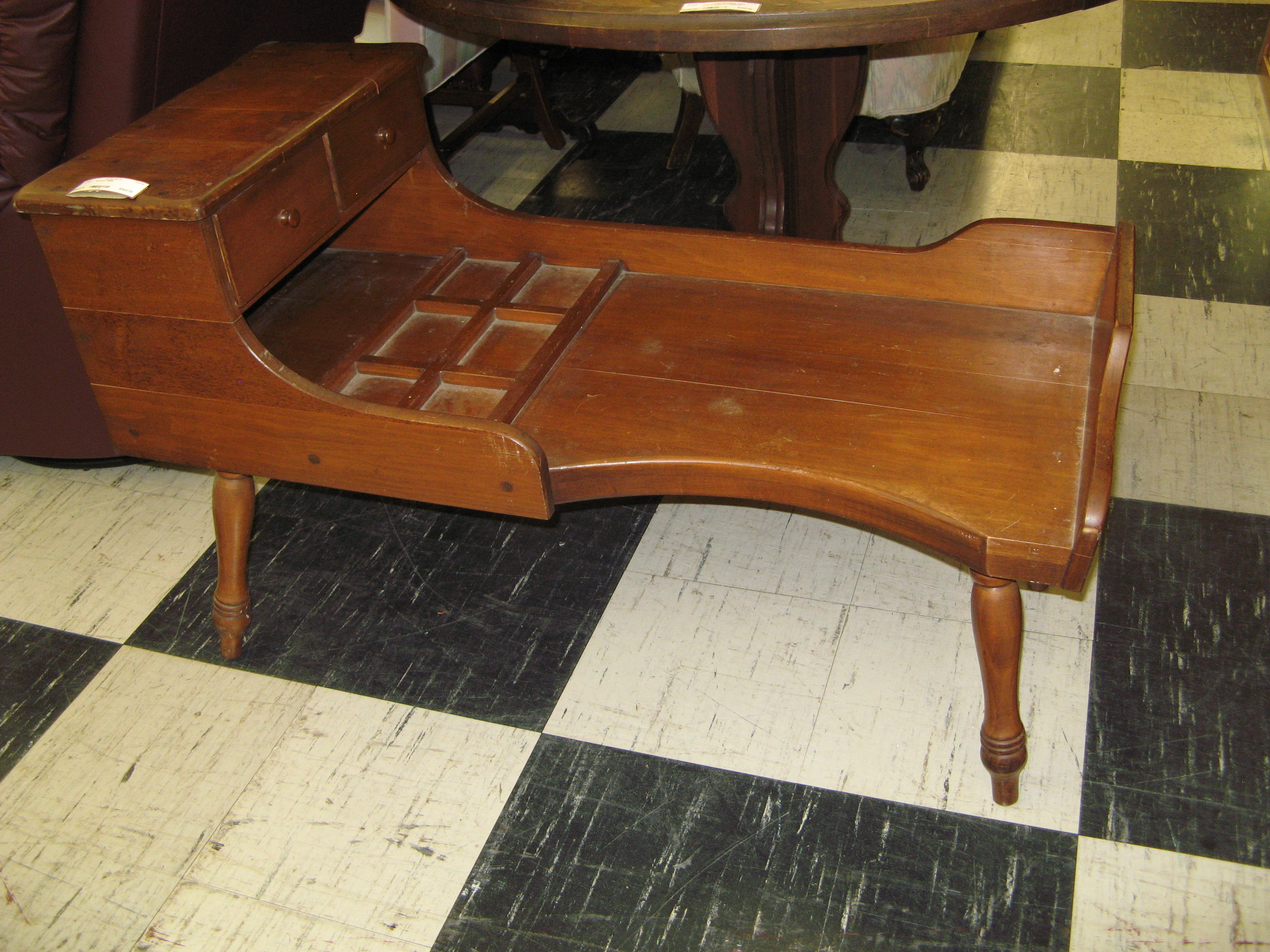 Accent Table or Coffee Table - Vintage Cobbler's Bench