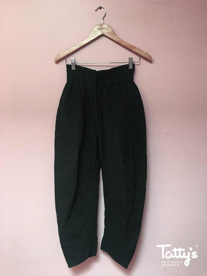 72c8fe19ed72 Heavy cotton curved leg trousers